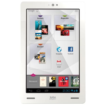 Tablette Android Kobo Arc Fnac