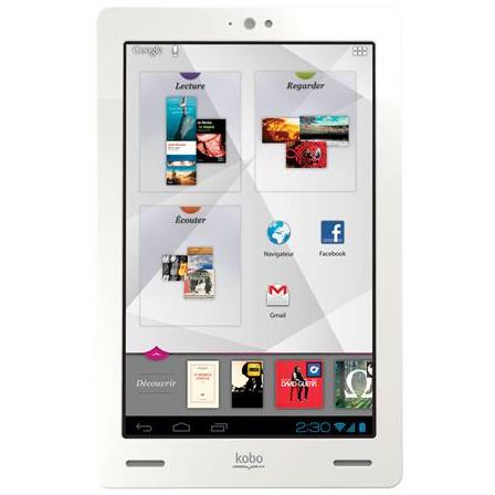 Tablette Android Kobo Arc Fnac
