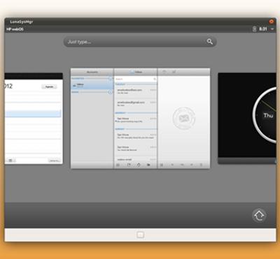 Open webOS 1.0 - HP