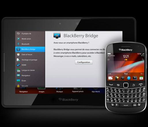 BlackBerry PlayBook OS 2.1