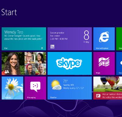 Skype Windows 8 Microsoft VoIP