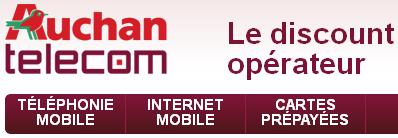 Auchan Box Internet fixe très haut débit