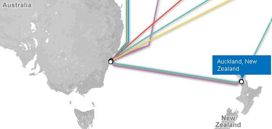 cartographie câbles sous-marins fibre optique