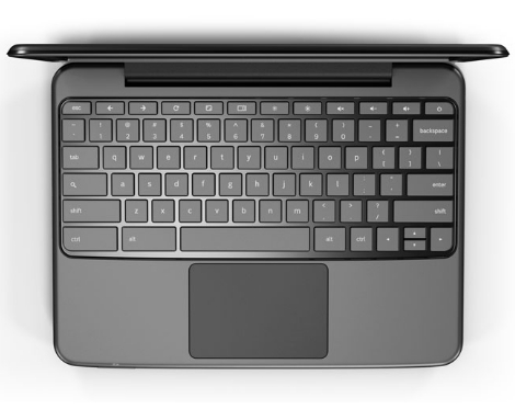 Google Chromebook tactile