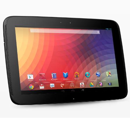 tablette Google Nexus 10