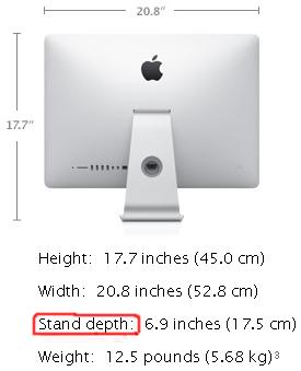 Apple iMac caractéristiques techniques