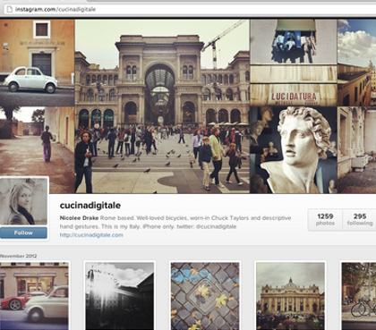 Instagram Web partage photos