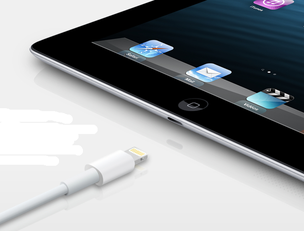 Apple iPad marque Lightning