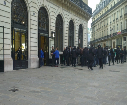 iPad Mini Apple Store Opéra Paris