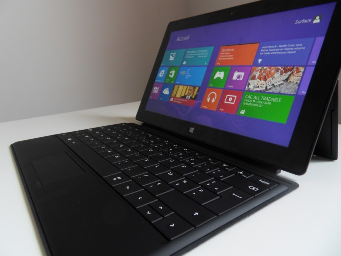 Microsoft Surface Windows RT tablette convertible