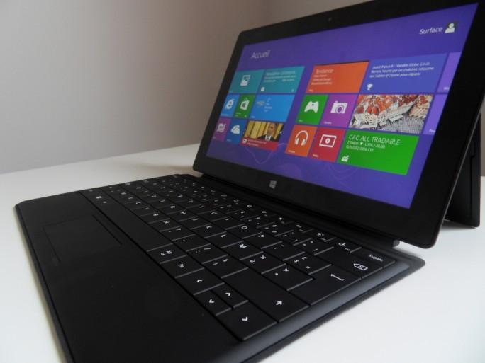 Microsoft Surface Windows RT tablette convertible
