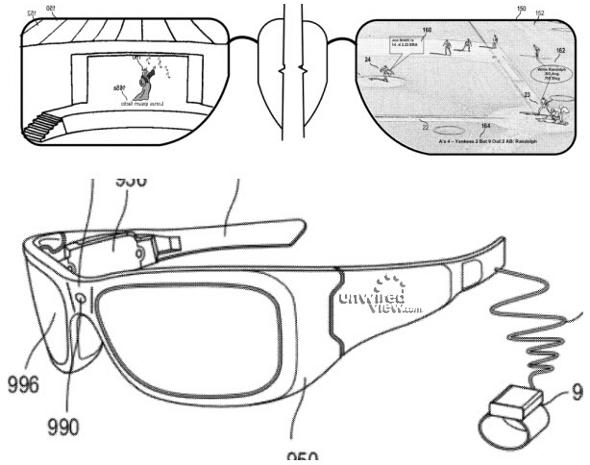 Microsoft brevet lunettes réalité augmentée