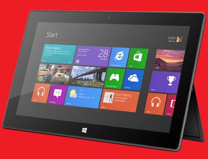 Microsoft Surface Windows RT
