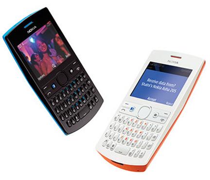 Nokia Asha 205 téléphone mobile