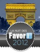 Nuit des favori 2012