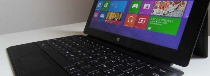 tablette Microsoft Surface RT 64 Go