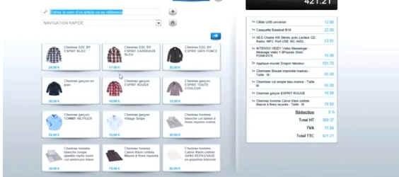 Shop Application Caisse en mode Cloud