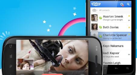 Skype 3.0 Android communications unifiées