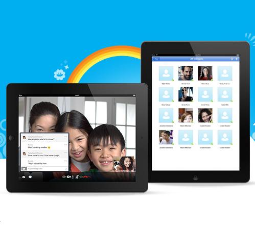 Skype iPhone iPad Microsoft