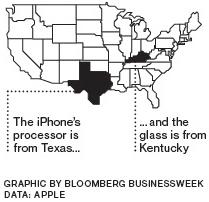 Apple processeurs écrans USA