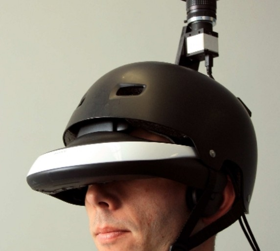 Flyviz casque panoramique 360 degrés INRIA