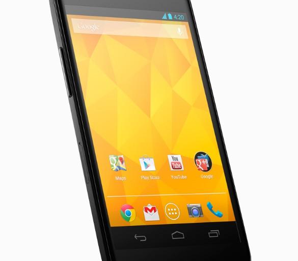 Google Nexus 4 smartphone LG