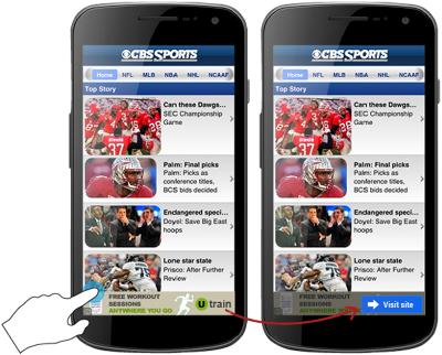 publicité mobile Google