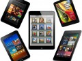 tablette Amazon Kindle Fire Samsung Galaxy Tab Apple iPad Mini Google Nexus 7