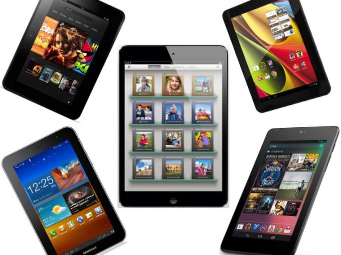 tablette Amazon Kindle Fire Samsung Galaxy Tab Apple iPad Mini Google Nexus 7