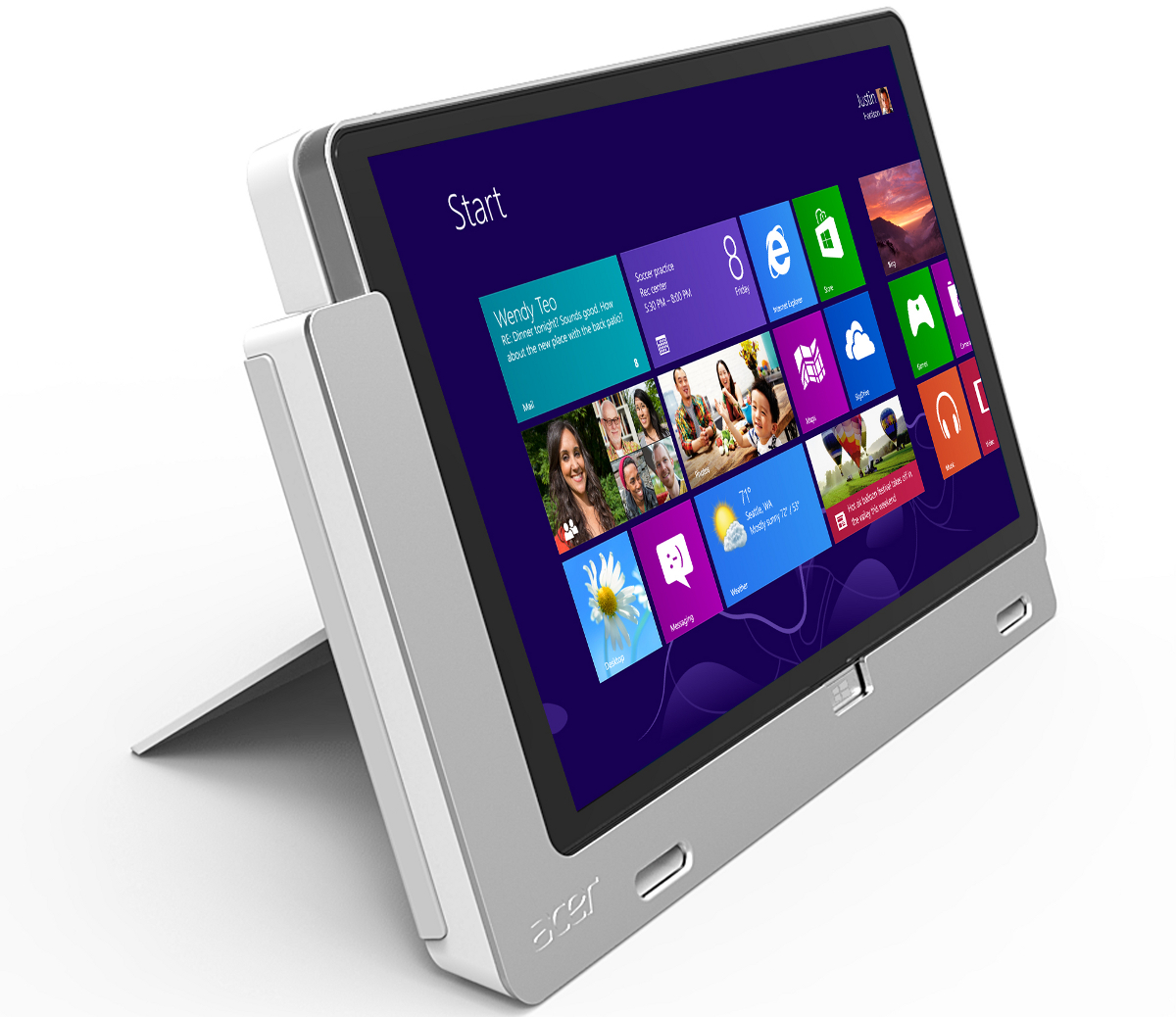 acer iconia w3 une tablette 8 pouces sous windows 8 pro itespresso. Black Bedroom Furniture Sets. Home Design Ideas