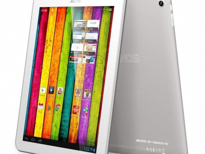 Archos CES 2013 tablettes