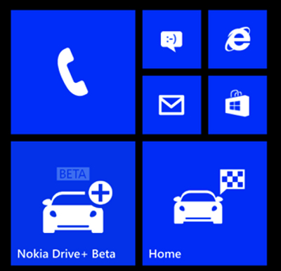 Nokia Drive Windows Phone 8