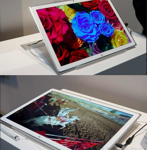 Panasonic tablette Windows 8 CES 2013