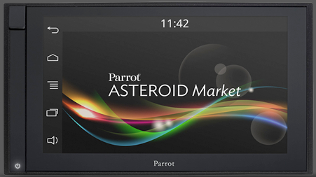 Parrot Asteroid