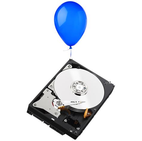 Western Digital disques durs hélium