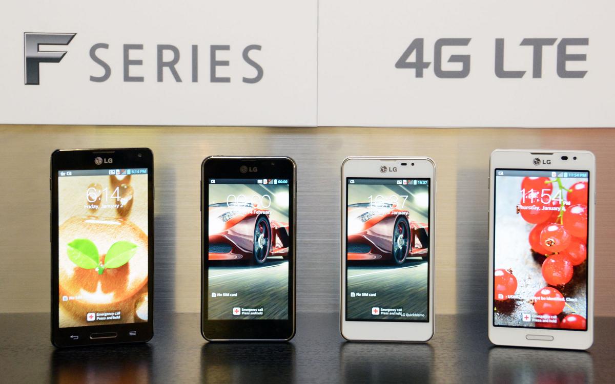 LG Optimus F5 F7 smartphones Android
