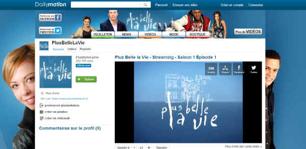 Plus belle la vie dailymotion