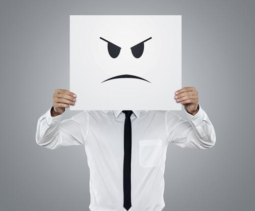 Mécontentement (Shutterstock)