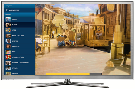 Dailymotion Smart TV