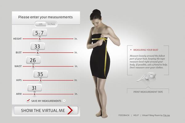 essayage virtuel de vetement en ligne