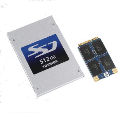Toshiba SSD 2,5 pouces NAND MLC 19 nm
