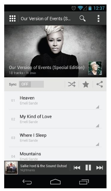 deezer version android