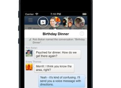 Facebook version iOS : ça va chatter sur iPhone et iPad