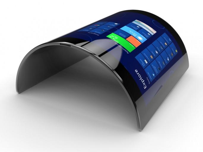 LG écrans souples flexibles