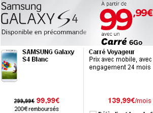 SFR Samsung Galaxy S4