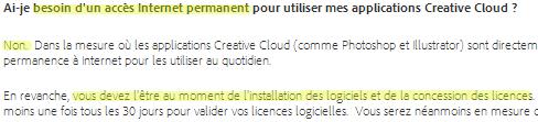 abonnement Adobe Creative Cloud