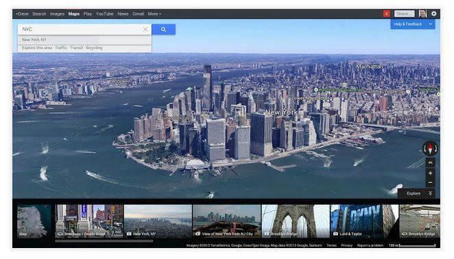 google maps google earth