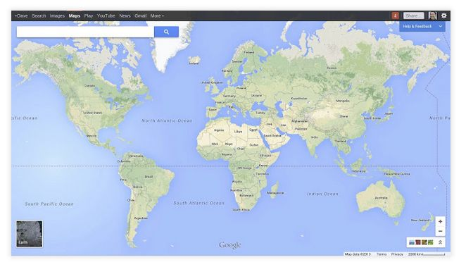 google maps plein ecran