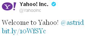 Yahoo Astrid