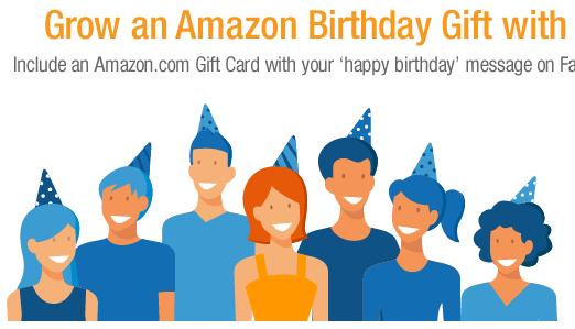Amazon Facebook cadeau social